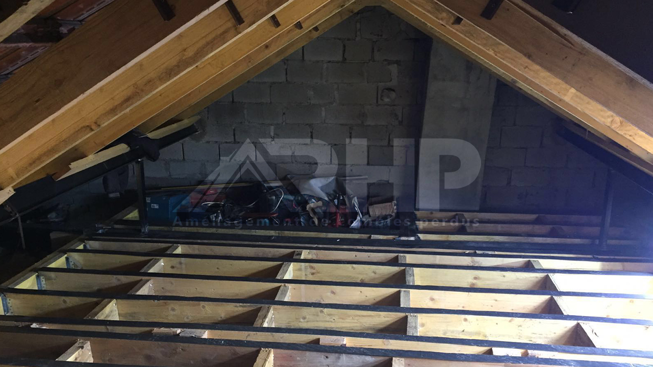 Aménagement des combles à Cergy  ValdOise  RHP Combles